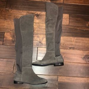 Women's size 8.5 Chinese laundry tall suede boots